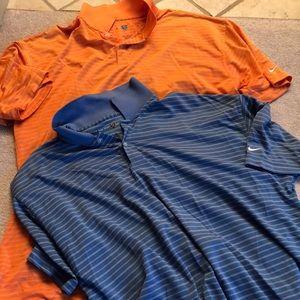2 Nike Golf polo shirts size XXL